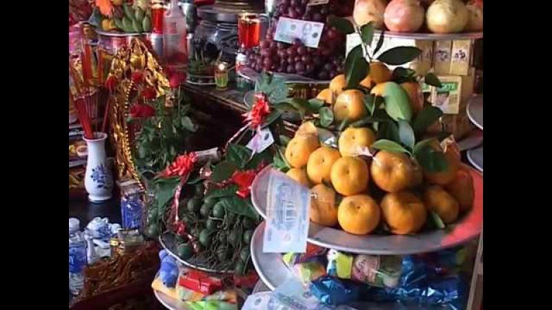 Hồng Ngát hầu 36 giá tại đền Độc Cước thành phố Sầm Sơn (P1)