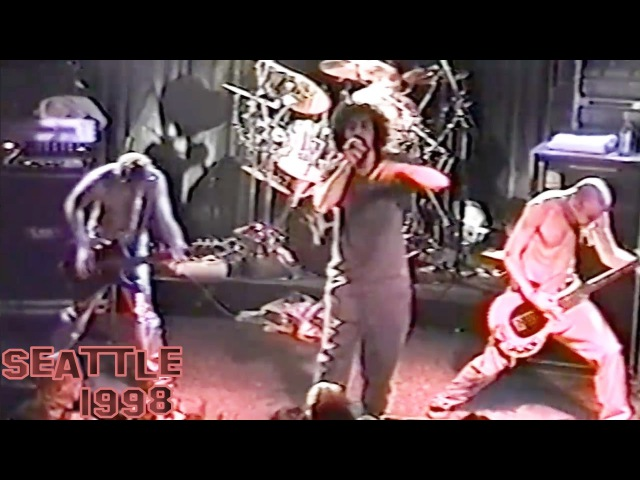 System Of A Down - War live 【Seattle 1998 | 60fps】
