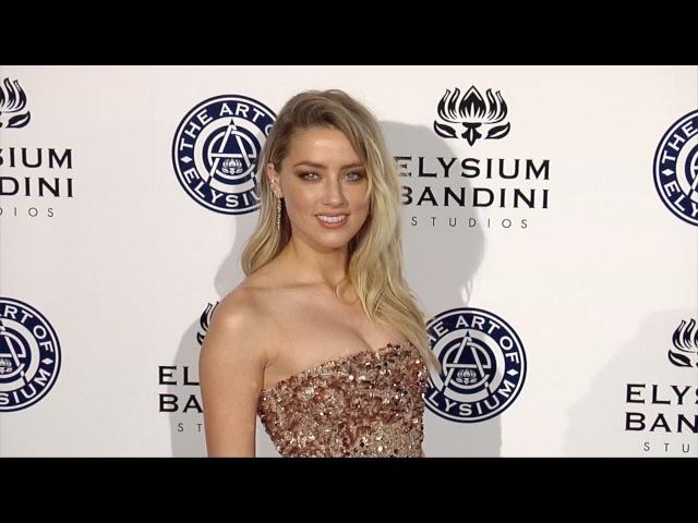 Amber Heard 2017 Heaven Gala
