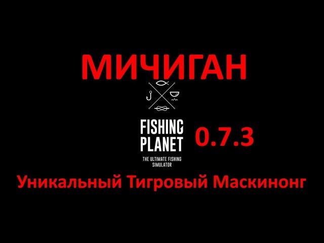 Fishing Planet(0.7.3) - Уникальный тигровый маскинонг(Мичиган)