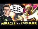 Miracle Invoker vs Top-1 MMR Paparazi — you dont get 10k before me