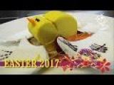 Манго-лаймовый мусс на шоколадном гнезде и сушеная французская меренга.  EASTER DESSERT 2017  LE DESSERT DE PAQUES 2017