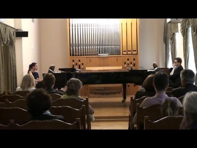 Сергей Чечётко. Генезис для двух фортепиано