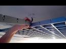 Монтаж подвесного потолка Грильято. Подробная установка и особенности монтажа.