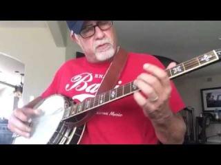Crazy Train Banjo Cover