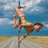 Pole dance (пол дэнс) Новосибирск. Candy lady