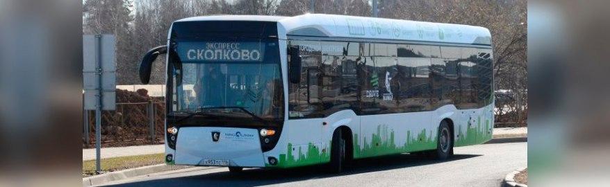 ГИБДД Москвы уже дважды оштрафовала электробус КАМАЗ-6282