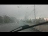 Град в Брянске 8 мая 2017 года