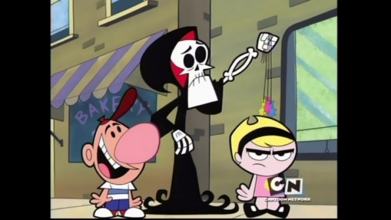 The Grim Adventures of Billy Mandy - Whatever Happened To Billy Whatsisname / Just The Two Of Pus [S4E06]