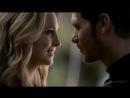 Поцелуй Клауса и Кэролайн в лесу (5 сезон 11 серия)сладкий нежный поцелуй страстный губы любовь нежность стихи горячая эротика К