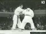 Подхват Арона Боголюбова на токийской Олимпиаде 1964г. (Judo Tokyo 1964 Bogolubov USSR Nguyen Van VIET)