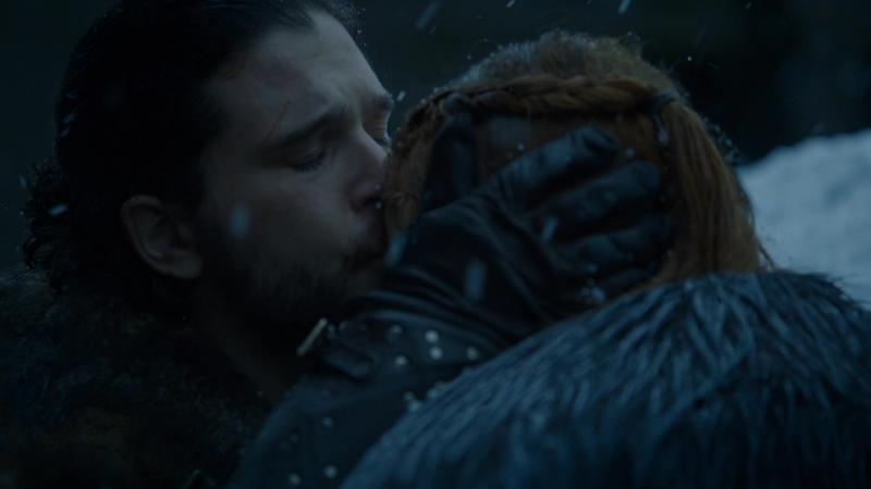 Игра Престолов - Джон Сноу и Санса Старк в Винтерфелле. Мы должны доверять друг другу, нам нельзя воевать между собой.
