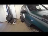 Интересный гараж. Очень злая Нива. Состояние УАЗа.