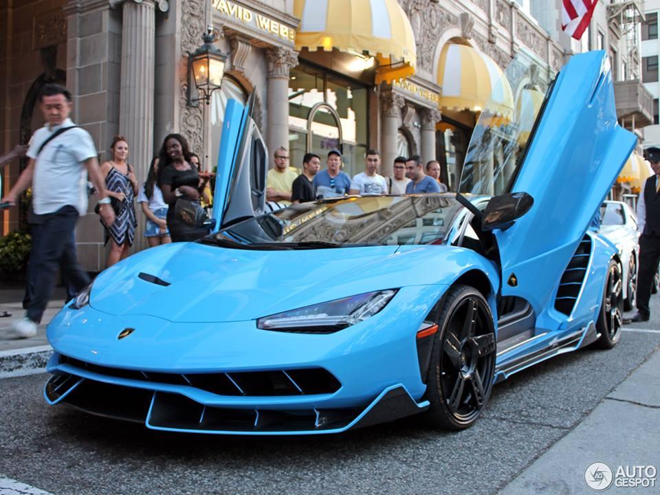 At Announcement Of Our Lamborghini Centenario The Chosen Colors Were