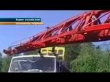 В Иркутске нетерпеливый водитель Камаза не поделил дорогу с товарным поездом