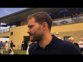 Интервью Джейми Дорнана на турнире по гольфу DDF Irish Open ()