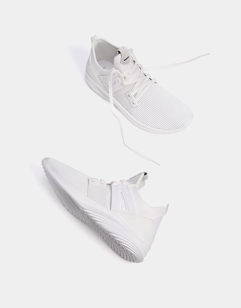 Мужские кроссовки из ткани