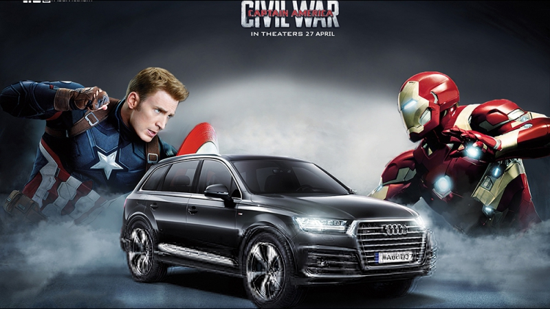 Captain America Civil War - Audi The Chase (720p)