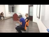 2017-10-03 пантомима Вики и кота Лехи =D