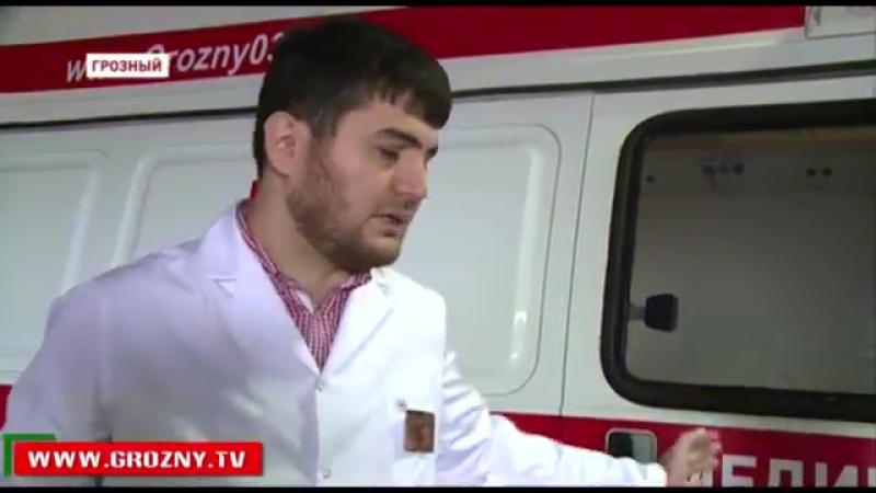 128. В Грозном появились мотобригады скорой помощи 2015