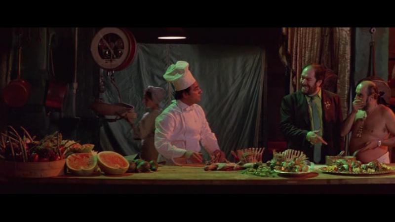 Повар, вор, его жена и ее любовник (The Cook, the Thief, His Wife Her Lover) (1989)