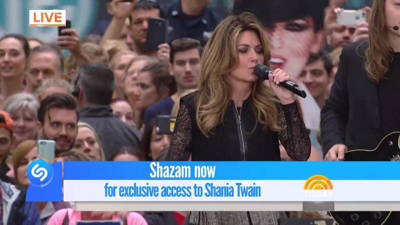 Shania Twain - Man! I Feel like A Woman! (Today Show - June 16, 2017)