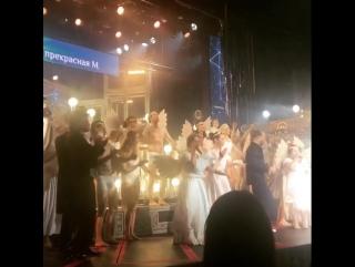 Шоу прекрасная М и веночки от Leteria в греческом стиле