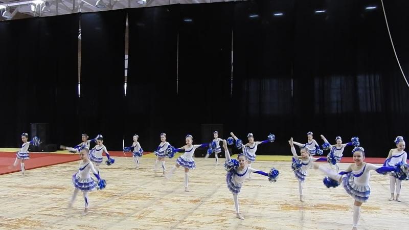 Чемпионат по черлидингу в Челябинске Блестящие 2017 02 05