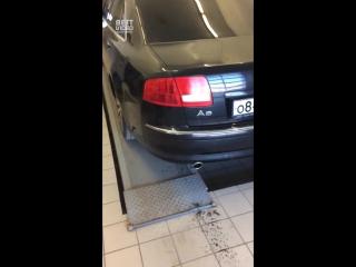 Бешеный багажник Ауди А8