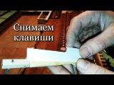 Тюнинг фисгармонии №1 - 4\10 (Сисиема клапанов - разборка )