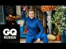Женщина года GQ 2017: Яна Троянова (сериал «Ольга») закидывает прохожих помидорами