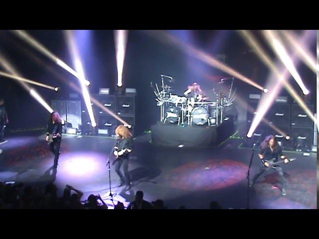 Megadeth Live At VIVO Rio, Rio de Janeiro, Brazil, Nov 1st 2017