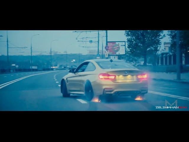 BMW M4-Crazy Moscow City Driving (zelimkhanshm)