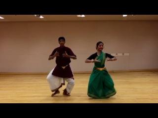Ardhanareeswaram: Bharatanatyam Presentation