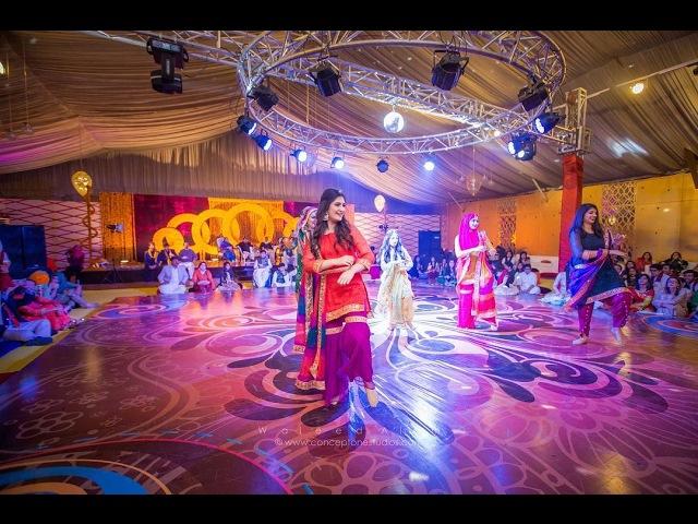 2017 Dance By Raksha Kunal Wedding Sangeet Dance Performance