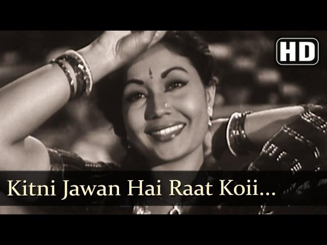 Kitni Jawan Hai Raat (HD) - Azaad Songs - Meena Kumari - Filmigaane