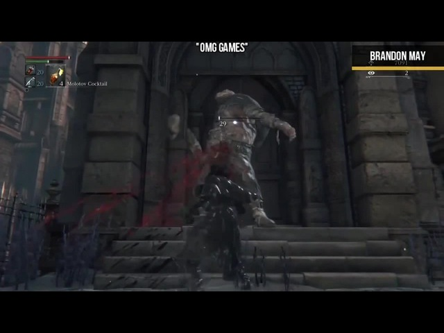 GAMING FUNNY MOMENTS PT:25 SPOOKY EDITION (BLOODBORNE, THE EVIL WITHIN 2, More)