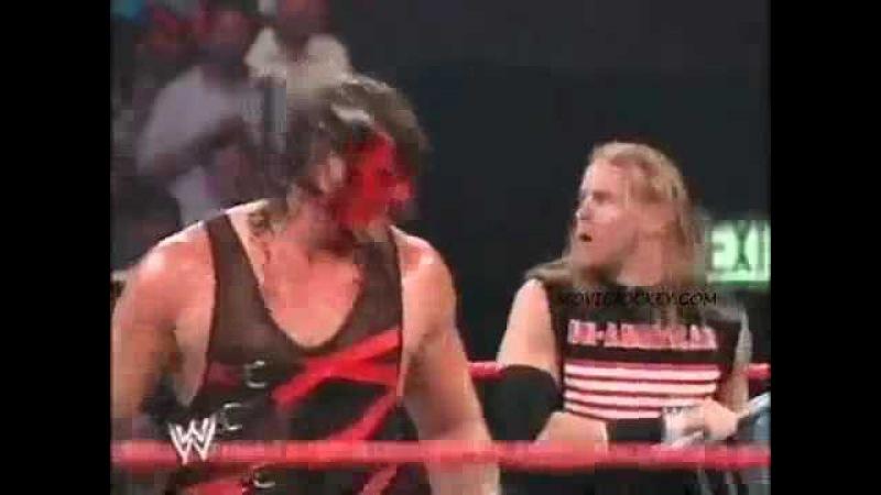 WCOFP The Un Americans Booker T Goldust Kane Segment WWE Raw 2002