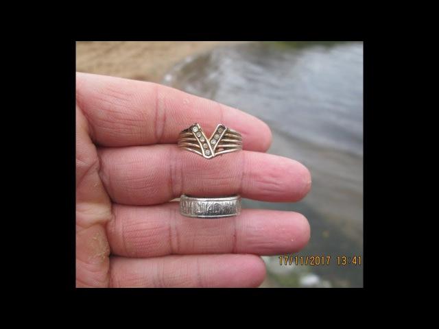 33 Поиск монет и ювелирных изделий на пляже озера Амазонка Мазонка