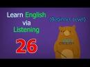 Learn English via Listening Beginner Level | Lesson 26 | School