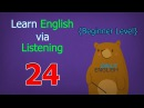 Learn English via Listening Beginner Level | Lesson 24 | Weather