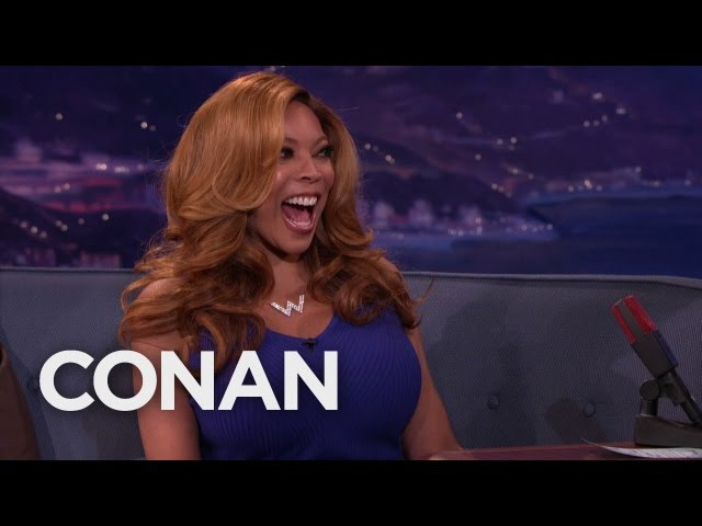 Wendy Williams' Son Walked In On Wendy Her Husband - CONAN on TBS
