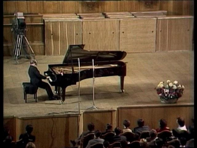 Emil Gilels Bach Siloti 'Prelude' h