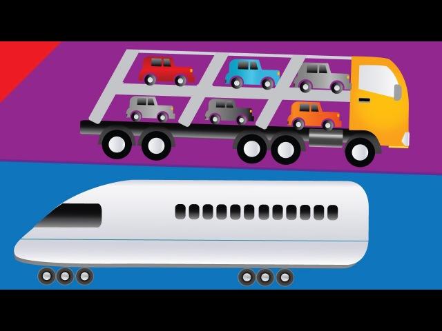 Learn Transportation Vocabulary   Kids Learning Videos   ESL for Kids   Fun Kids English