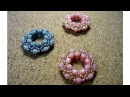 HOW TO: Simple Beaded Pendant (Beading step by step tutorial for beginners)
