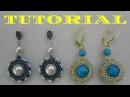 DIY TUTORIAL Orecchini Marion Herringbone earrings