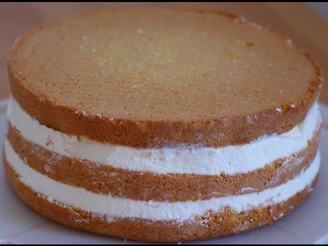 Сборка и пропитка тортика