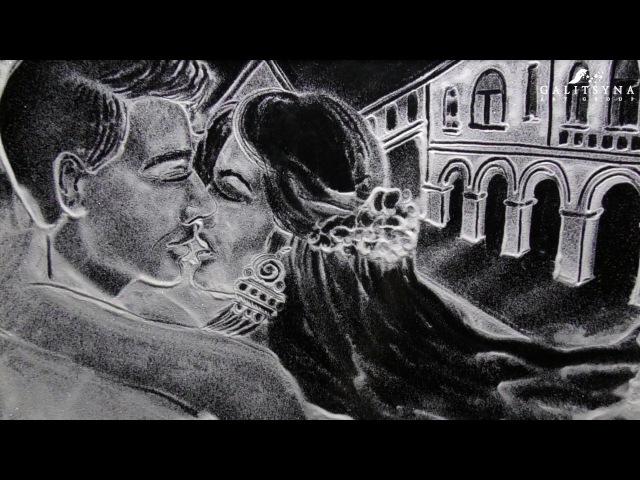 Emocjonująca HISTORIA MALOWANA ŚNIEGIEM 👉 Reklama socjalna | Galitsyna Art