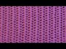 Двухсторонний ажурный узор Вертикальная сеточка Вязание спицами Видеоурок 88