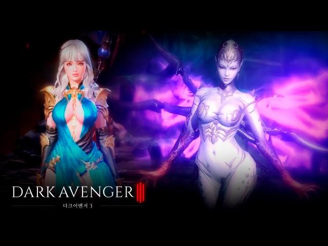 Dark Avenger 3 - Sorceress lvl 13~23 - CBT - Mobile - F2P - KR